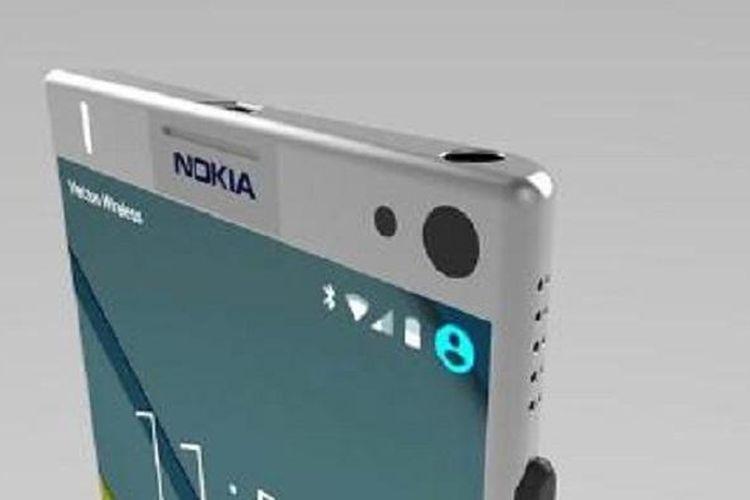 Konsep smartphone Nokia Android