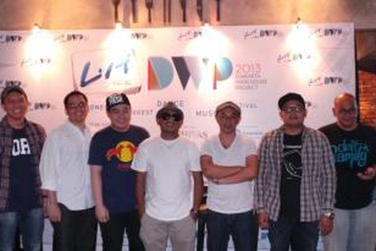 Penyelenggara dan penampil Djakarta Warehouse Project 2013