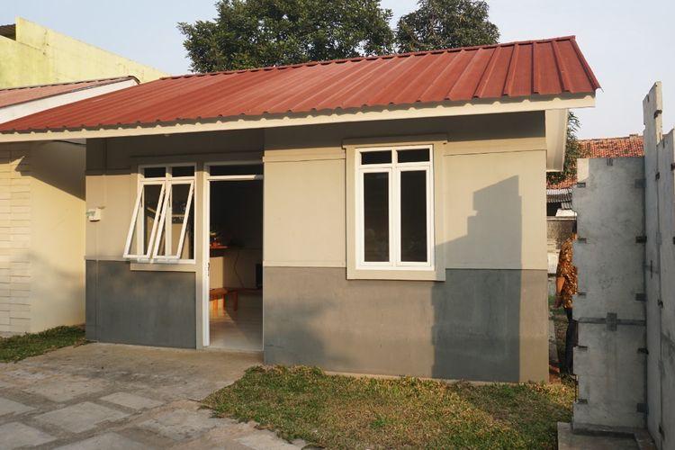 Salah satu rumah yang dikembangkan melalui teknologi Prima Wall System (PWS).