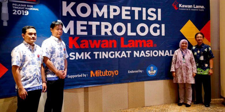 PT. Kawan Lama Sejahtera (Kawan Lama) menggelar penyisihan regional Kompetisi Metrologi Kawan Lama Tingkat Pelajar SMK Nasional 2019 pada 12 Februari 2019 lalu.