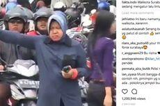 Aksi Wali Kota Surabaya Turun Tangan Atur Lalu Lintas