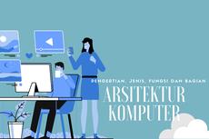 Arsitektur Komputer: Pengertian, Jenis, Fungsi, dan Bagiannya