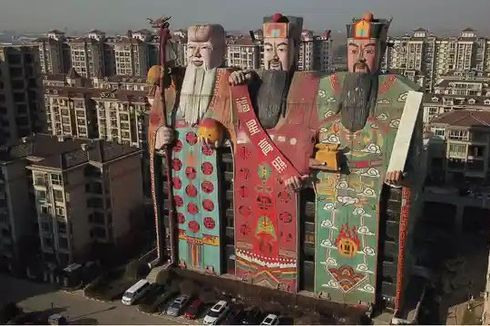 Kontes Bangunan Terjelek di China Dimulai, Hotel Boneka Raksasa hingga Gereja Biola Jadi Kandidat