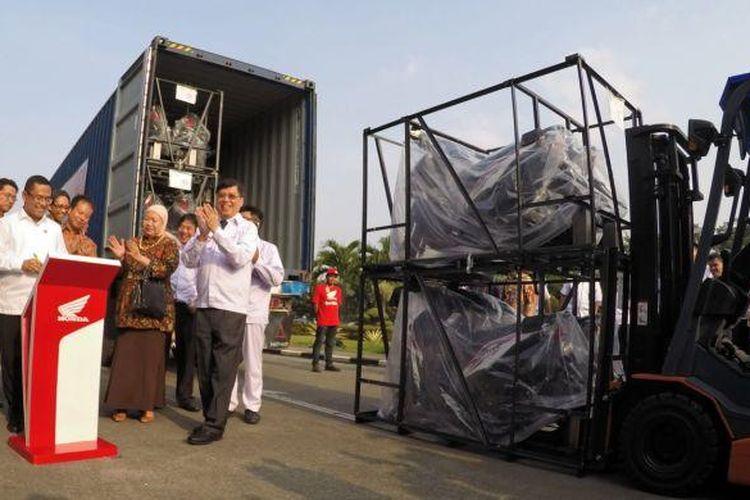 Ekspor Honda BeAT ke Filipina
