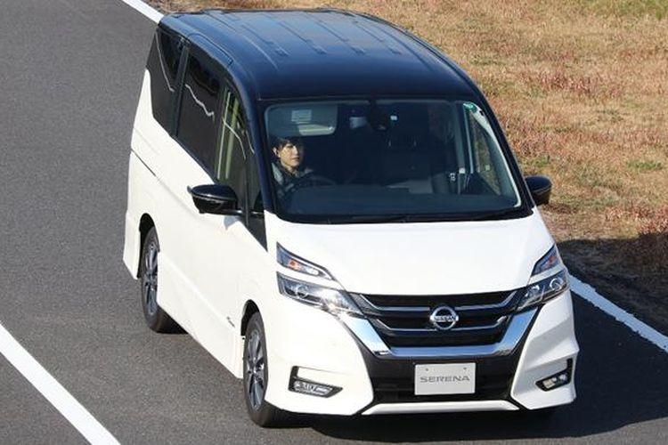 Teknologi ProPILOT yang dipasang pada Nissan Serena terbaru mendapat penghargaan di Jepang.