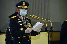 FOTO: Sederhananya Upacara HUT ke-74 TNI AU di Tengah Pandemi Covid-19