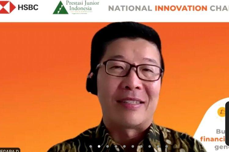 Edhi Tjahja Negara pada National Innovation Challenge secara virtual, Sabtu (8/5/2021).