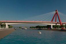Jembatan Aek Tano Ponggol Dihias Ornamen Suku Batak, Tahun Depan Dibuka