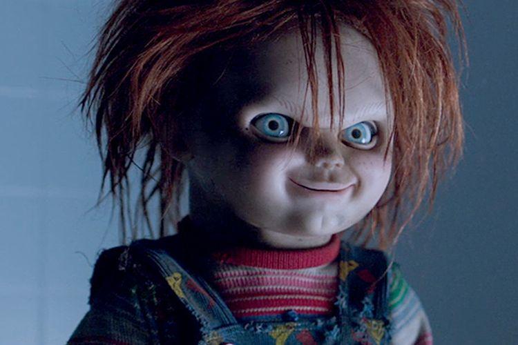 Karakter Chucky dalam film.