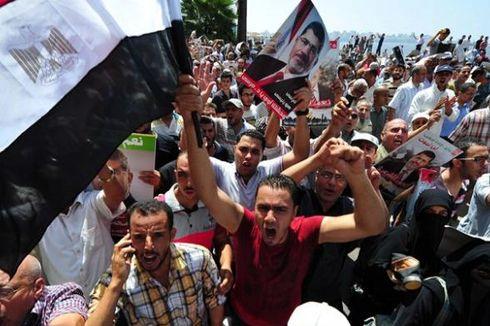 Selasa, Mesir Gelar Referendum Konstitusi...