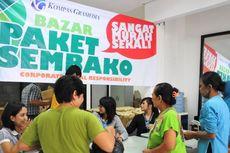 Kompas Gramedia Gelar Bazar Murah untuk Warga