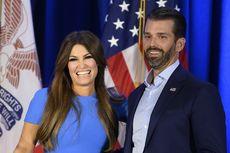 Usai Hadiri Pidato Calon Mertuanya, Pacar Donald Trump Jr Positif Covid-19