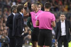 Barcelona Vs Inter, Conte Merasa Wasit Tak Hormati Timnya