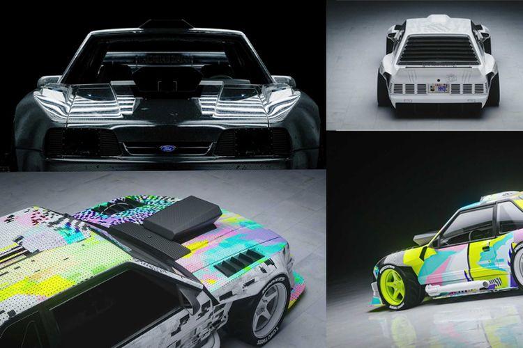 Modifikasi Ford Mustang Hoonifox Ken Block