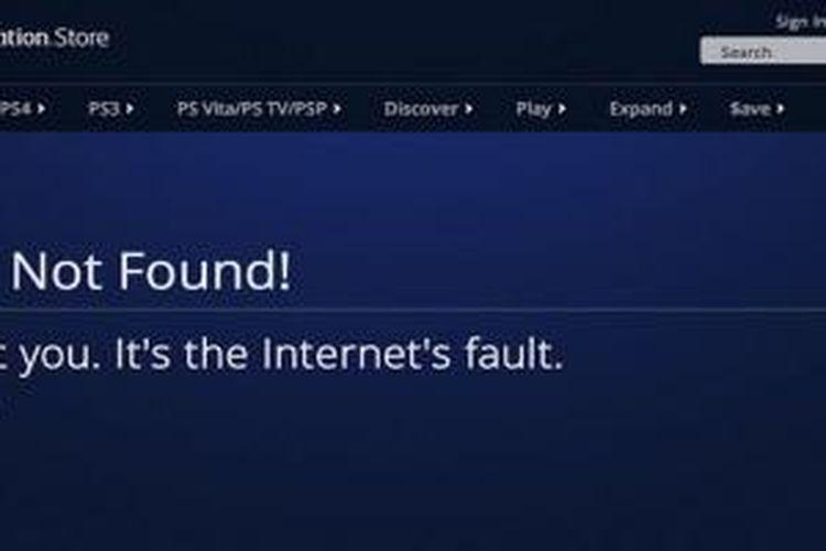 Pengguna Playstation Store tidak dapat login