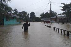 Sungai Kampar Meluap, Ratusan Rumah Terendam Banjir