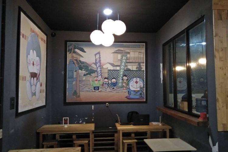 Tempat makan Sobahollic Cafe di Banten.