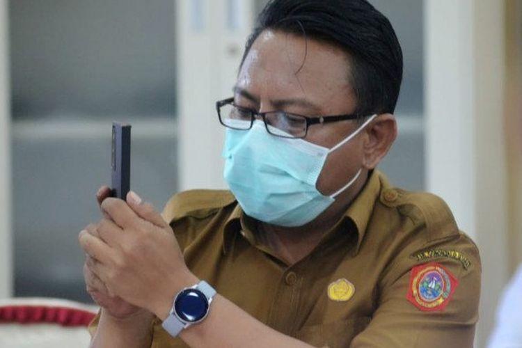 Kepala Dinas Kesehatan Gorontalo Utara, Rizal Yusuf Kune.