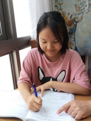 Jaeyi Kim, siswi berkebangsaan Korea Selatan kelas 7 yang meraih beasiswa di Sinarmas World Academy