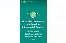 Heboh Muncul Pemberitahuan WhatsApp di Status Pengguna, Ada Apa?