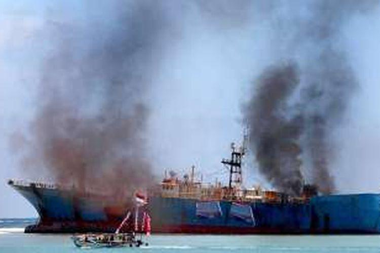 Kapal asing Fishing Vessel (FV)