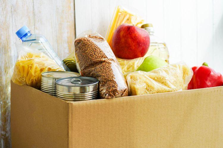 Ilustrasi donasi makanan
