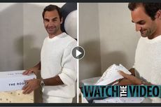 Federer Produksi Sepatu The Roger Hanya 1.000 Pasang, Ini Harganya...