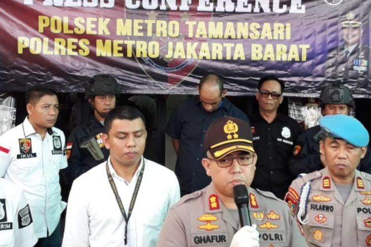 Kapolsek Metro Tamansari AKBP Abdul Ghafur di Mapolsek Metro Tamansari, Jakarta Barat, Senin (9/3/2020)