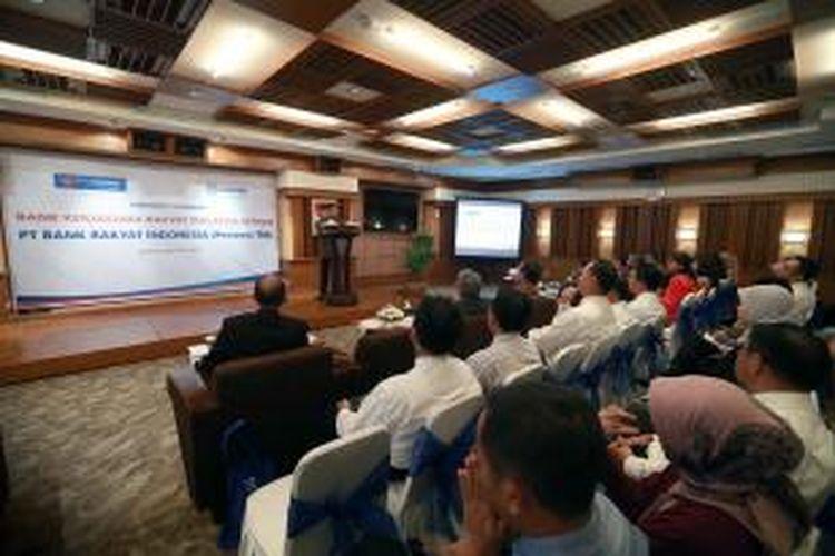 Suasana Corporate Gathering BRI dan Bank Kerjasama Rakyat Malaysia Berhad