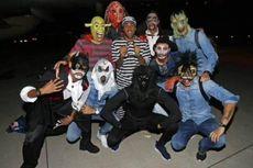 Pesta Halloween Barcelona Ganggu Konferensi Pers Getafe