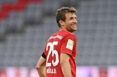 Dortmund Vs Bayern, Thomas Mueller Ingin Akhiri Laga dengan Senyuman