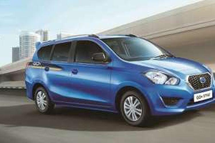 Datsun Go  di India, tipe Style yang sudah diberi aksesori layaknya crossover.