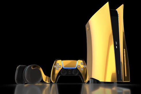 Sony PlayStation 5 Dilapisi Emas 24 Karat, Mau?