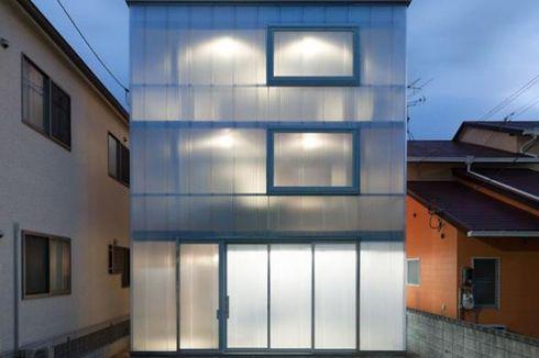Menarik, Rumah Modern Berbahan Plastik!