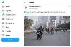 Viral Pengendara Pelat AA di Twitter, Bagaimana Aturan Bersepeda di Jalan?