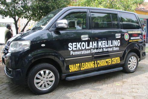 PGRI Lamongan Luncurkan Mobil Sekolah Keliling, Siap Bantu Sekolah dan Siswa Belajar Daring