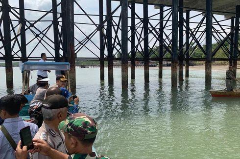 Tiang Penyangga Keropos, Jembatan II Dompak Ditutup untuk Kendaraan