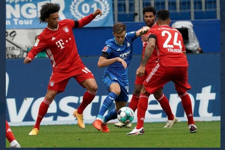 Bayern Muenchen kalah 1-4 dari Hoffenheim dalam pentas Bundesliga pekan kedua, Minggu (27/9/2020) malam WIB.