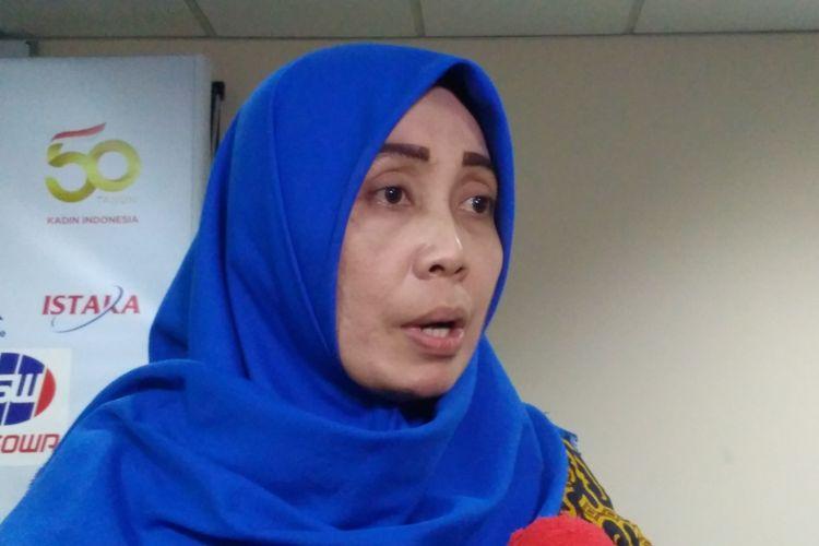 Presiden Asosiasi Pekerja Indonesia Mirah Sumirat