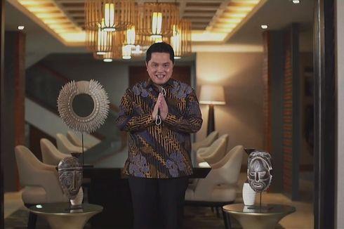 Erick Thohir untuk Wisudawan: Kami Mencari Talenta Terbaik untuk BUMN