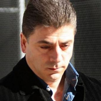 Bos mafia New York, Francesco Cali saat ditahan pada 2008.