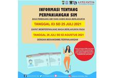 Masa Berlaku SIM Habis Selama Masa PPKM, Warga Surabaya Dapat Dispensasi