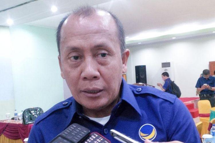Ketua DPW Nasdem Jawa Barat Saan Mustopa