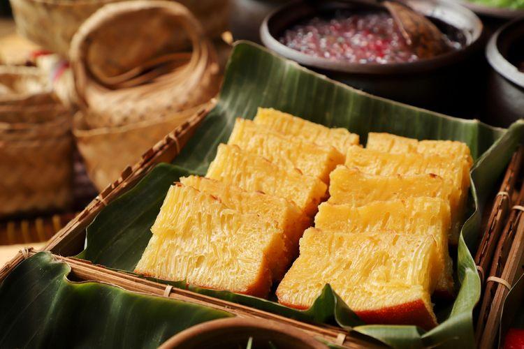 Ilustrasi bika ambon, makanan khas Medan.