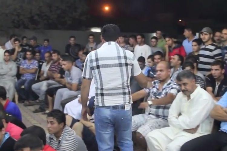 Permainan mheibes di Irak. (YouTube/the gamers)