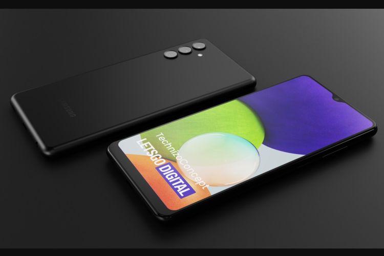 Bocoran desain render Samsung Galaxy A13 5G