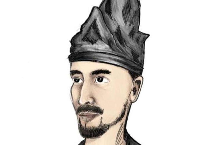 Sketsa wajah Sultan Baabullah