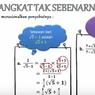 Sederhanakan dengan Cara Merasionalkan, Jawaban Soal TVRI 6 Agustus SMP