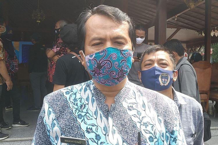 Kabid Pariwisata Dinporabudpar Banyumas Wakhyono di kompleks Pendapa Sipanji Purwokerto, Kabupaten Banyumas, Jawa Tengah, Rabu (9/9/2020).