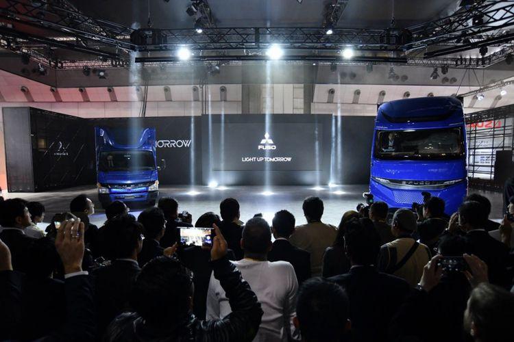 Mitsubishi Truck perkenalkan E-Fuso, merek yang berkonsentrasi pada produk truk dengan tenaga listrik